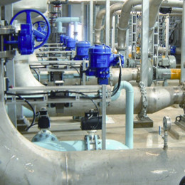 SCADA Systems for water supply and sewage treatment